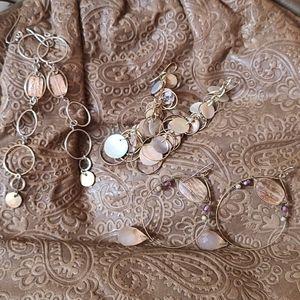 Faded Gold Earring Bundle